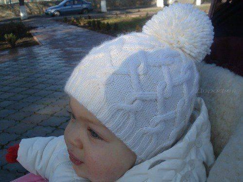 Размер шапочка для новорожденного