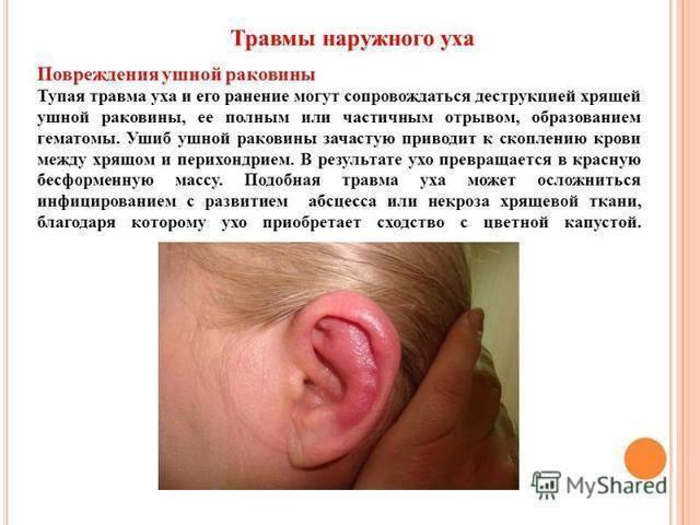 От чего может болеть ухо у ребенка младше года