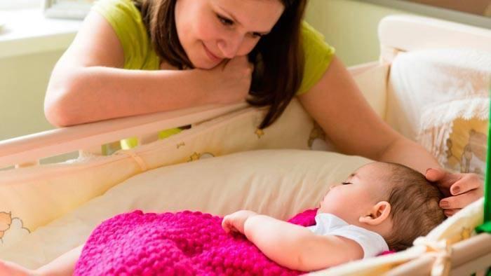 Чем опасно сильно укачивать ребенка?((