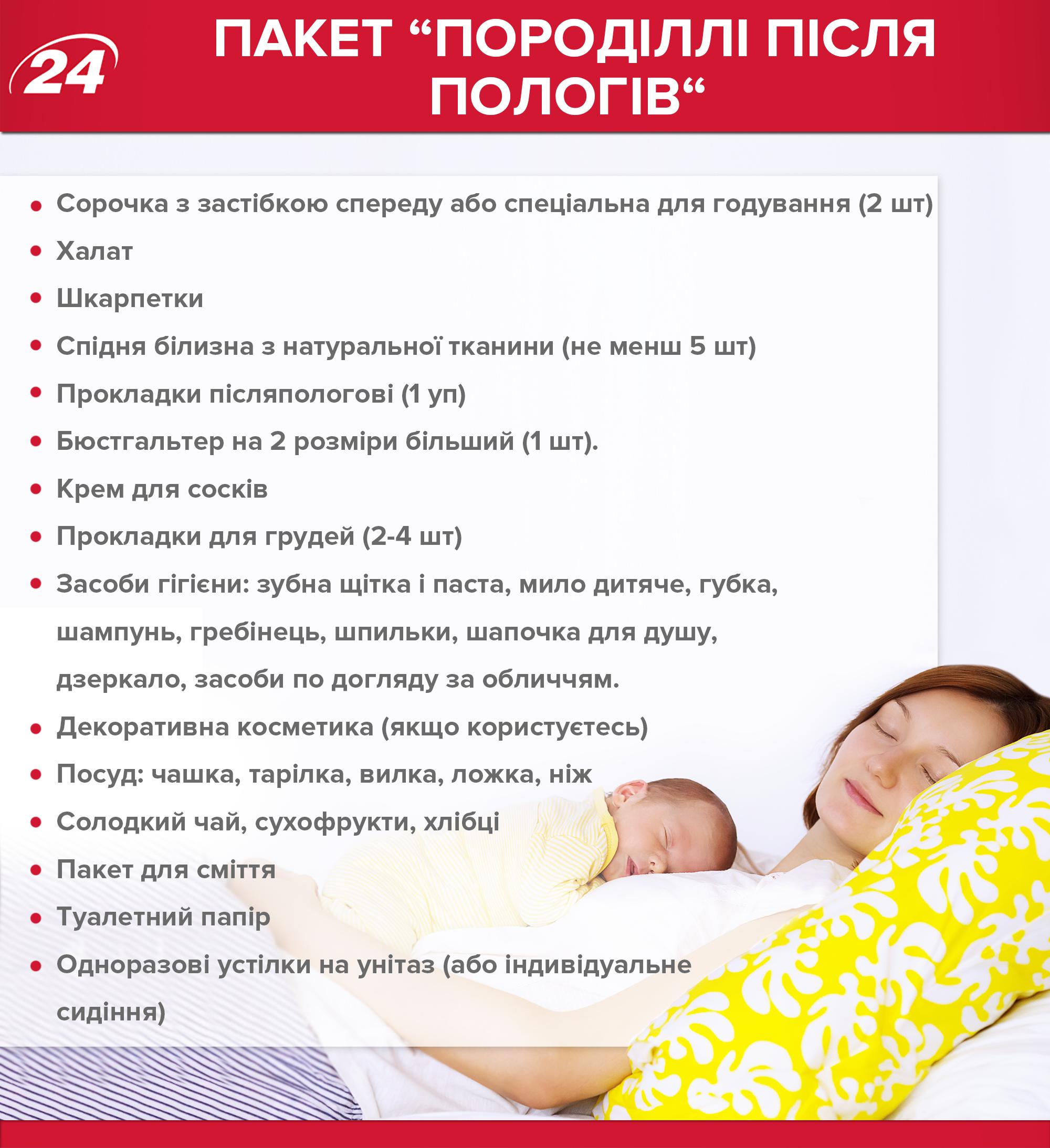 Самый точный список покупок новорожденному и в роддом