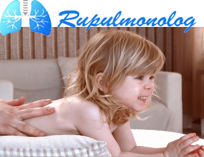 Массаж для отхождения мокроты у ребенка