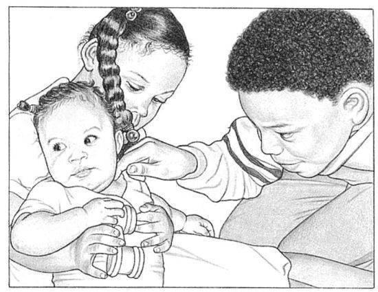 Что вызывает посинение губ у ребенка