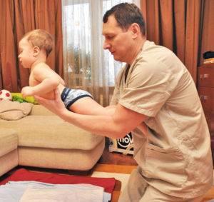 Гимнастика и массаж для детей 1, 2, 3 месяца | видео | жили-были