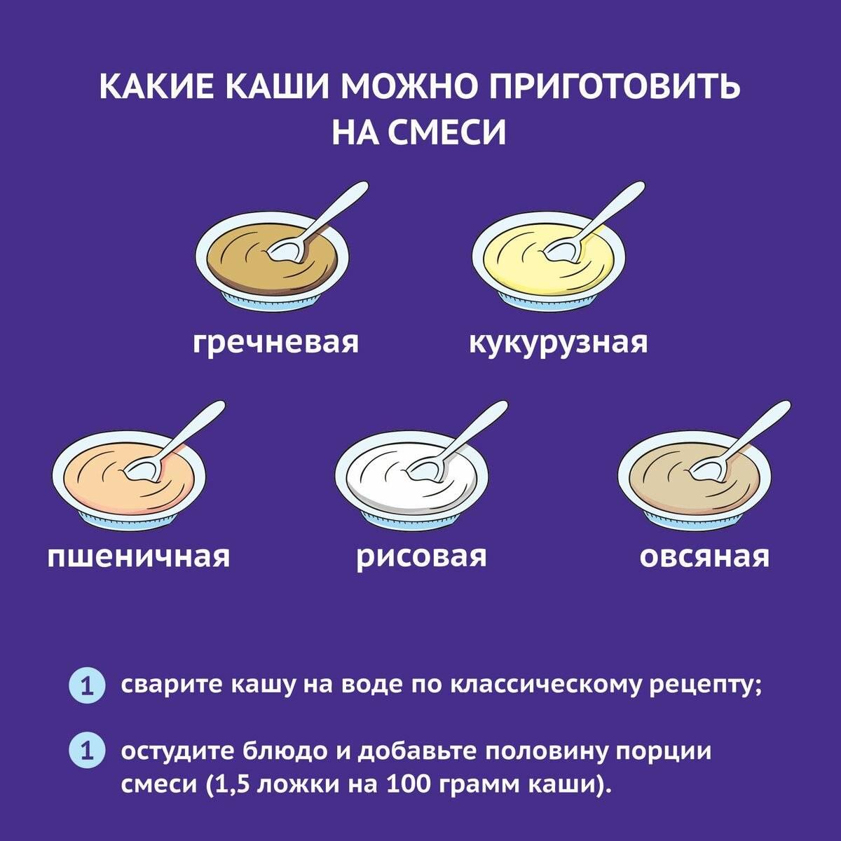 Какие каши давать в прикорм грудничку: как выбрать и как готовить