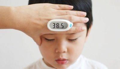 Как сбить температуру у ребенка до года - разрешенные и запрещенные врачами методы