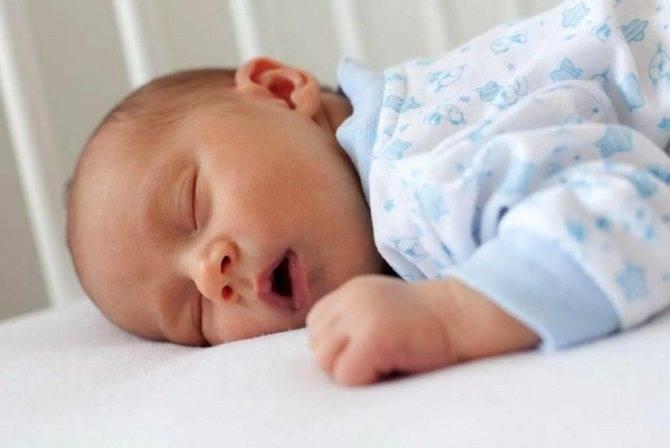 Дыхание ребенка во сне
