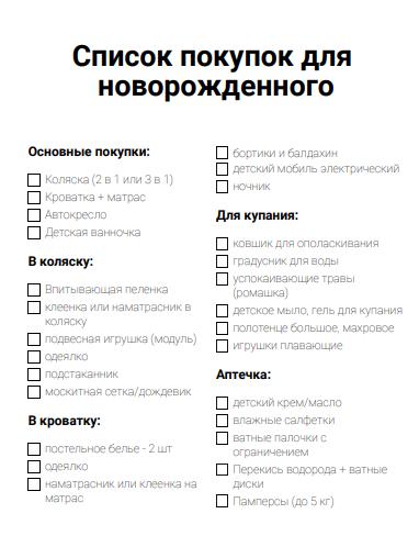 Нашла полезную  статью, что нужно малышу на первое время - что нужно для новорожденного - запись пользователя анастасия (nusik14) в сообществе образ жизни беременной в категории приданое для малыша - babyblog.ru