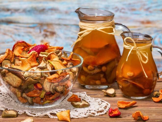 Компот для грудничков: из чернослива, сухофруктов, яблок, рецепты