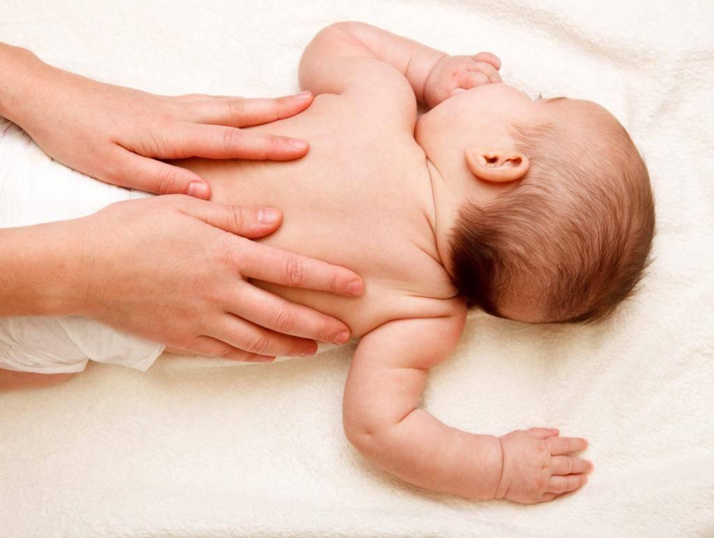 Массаж и гимнастика для детей на 9-12-ых месяцах жизни