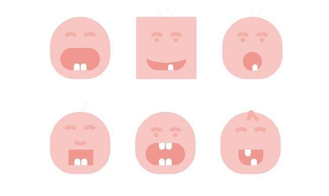 Схема прорезывания молочных зубов у детей: описание