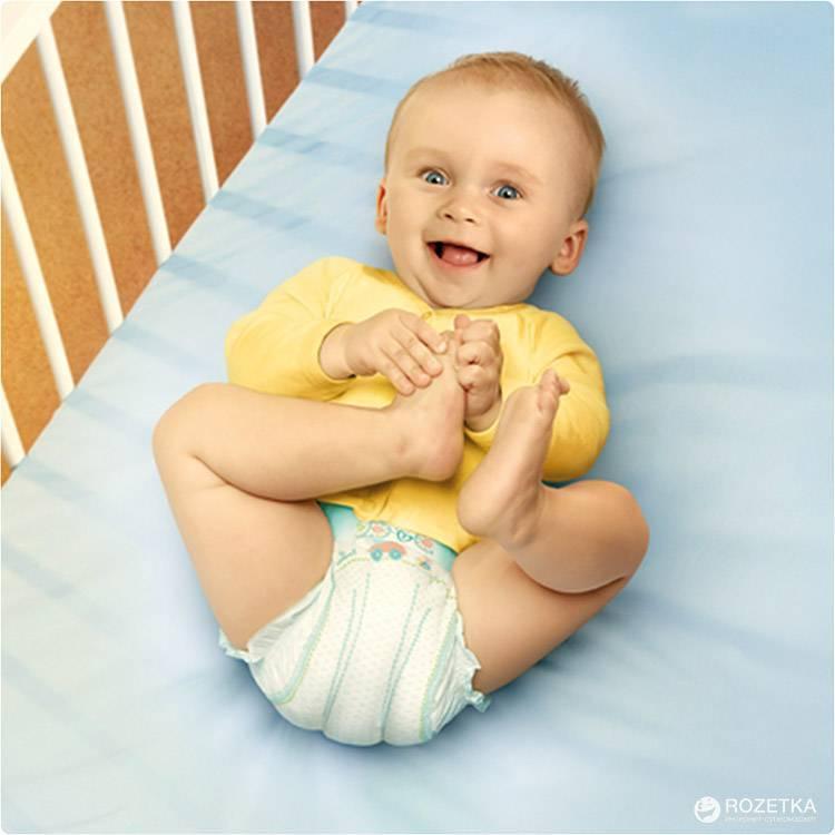 Как отучить ребенка от памперсов ночью
