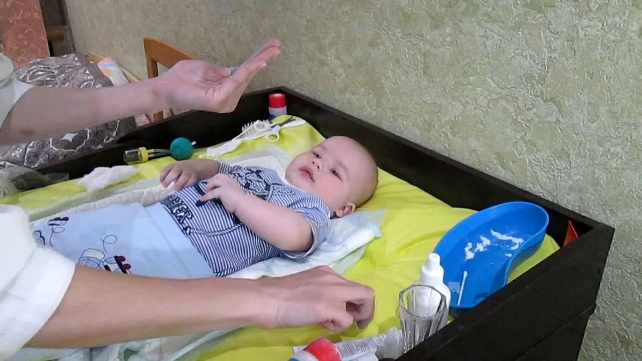 Уход за пупком у новорожденных