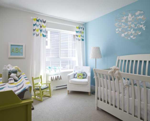 Детская комната для новорожденного: дизайн и примеры оформления