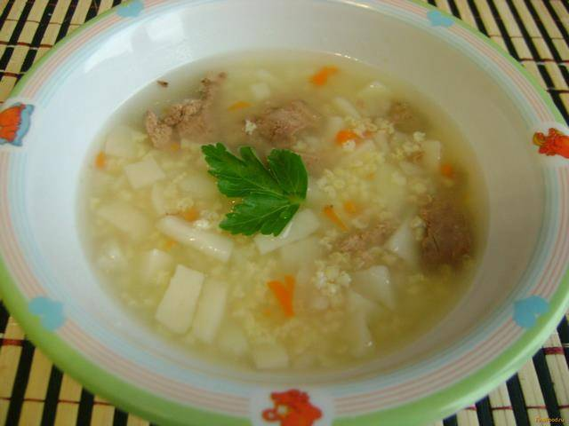 Суп для ребёнка 10 месяцев