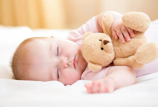 Сон новорожденного с 1 по 12 неделю жизни.