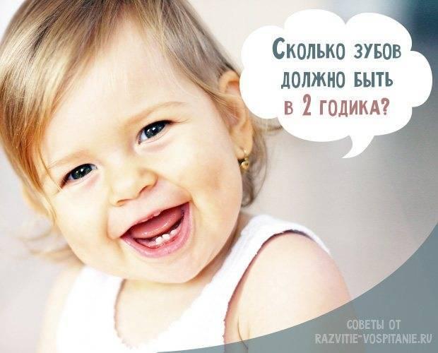 Какие зубы прорезаются у детей до года - много зубов