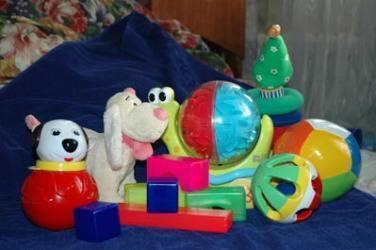 Игрушки для ребенка 6-8 месяцев!
