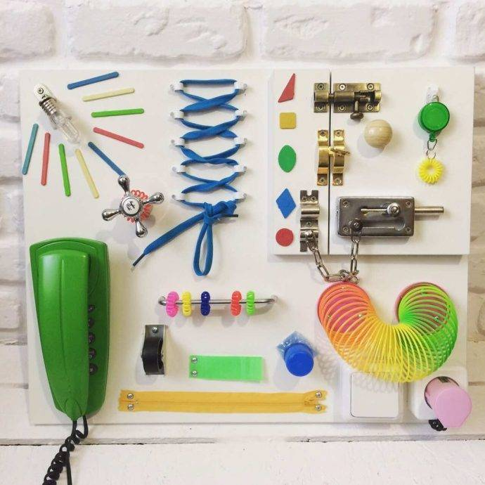 Развивающая доска №1 - запись пользователя алла (allanton) в сообществе рукоделие в категории развивающие игрушки - babyblog.ru