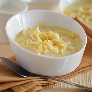 Как сварить молочный суп ребенку с вермишелью
