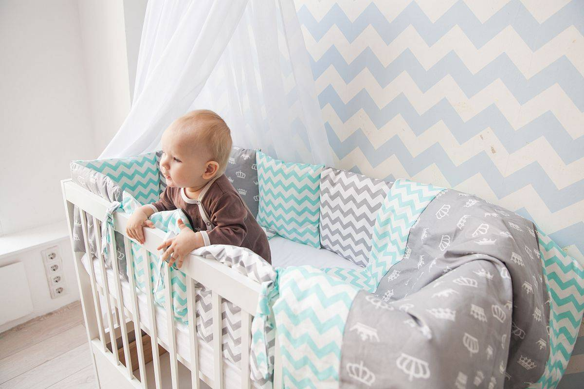Пошив детского постельного белья для кроватки