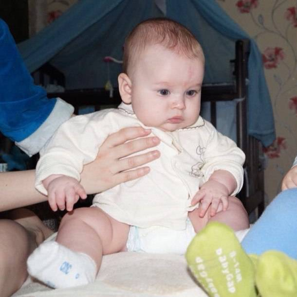 Гимнастика для ребенка в 5 месяцев