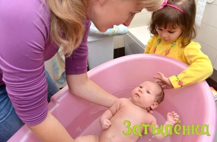 Температура воды для купания младенца новорожденного