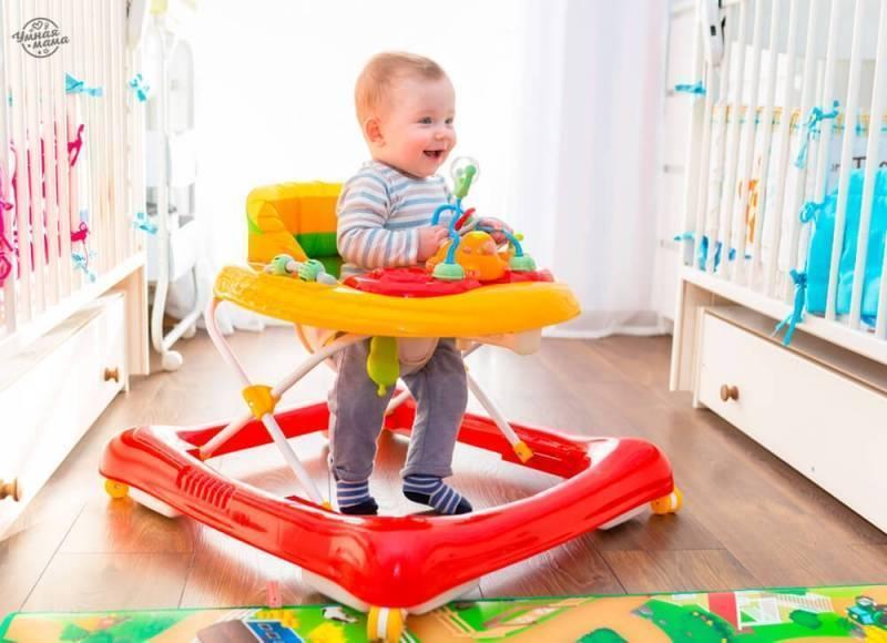 Лучшие ходунки для ребенка: рейтинг моделей 2019–2020 года (топ-8)