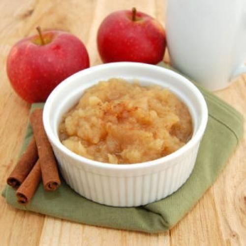 Пюре из яблок на зиму – рецепт без сахара для детей