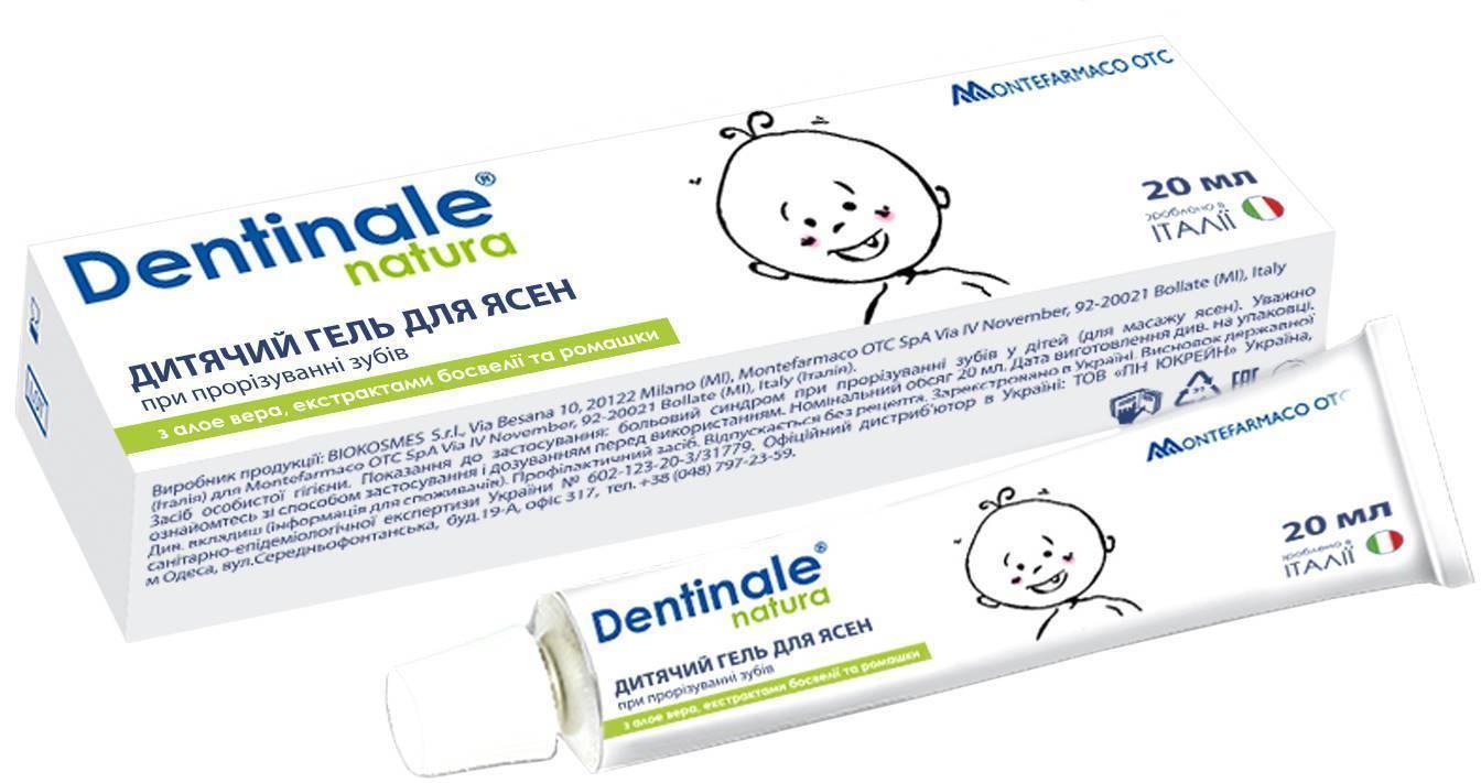 Препараты при прорезывании зубов у детей