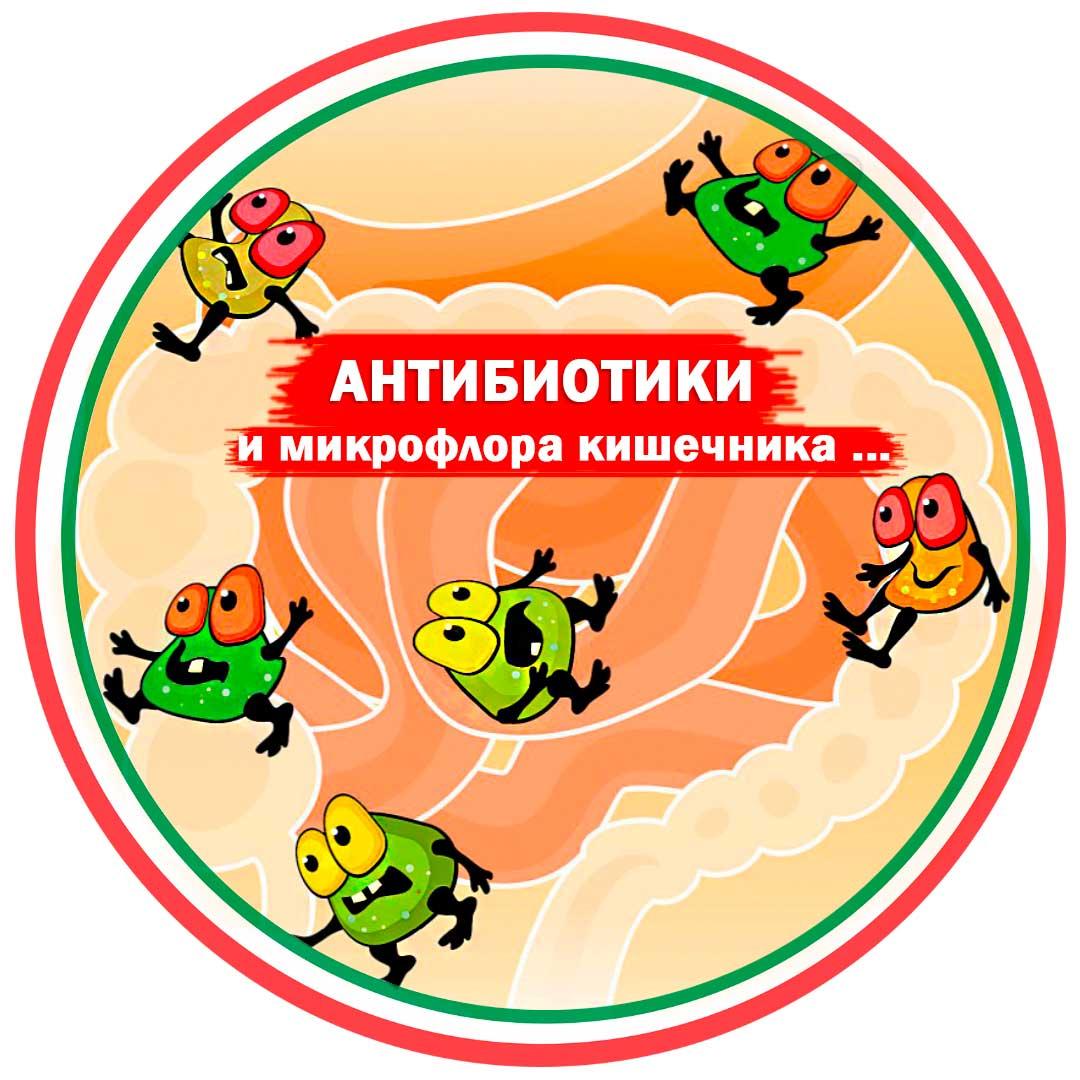 Восстановление микрофлоры кишечника после приема антибиотиков у ребенка