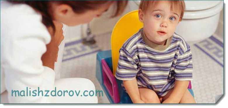 Решаем проблему запора у месячного ребёнка