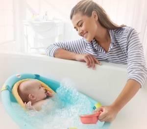 В какой воде купать новорожденного ребенка