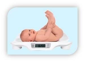 Сколько должен весить ребенок в 1месяц