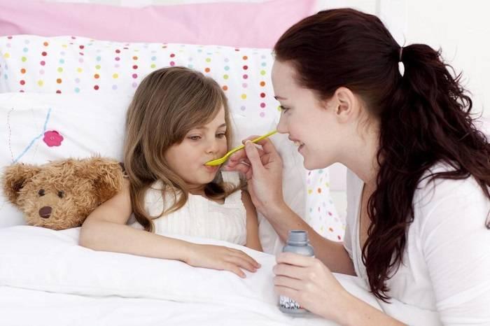 Как сбить высокую температуру у ребенка?