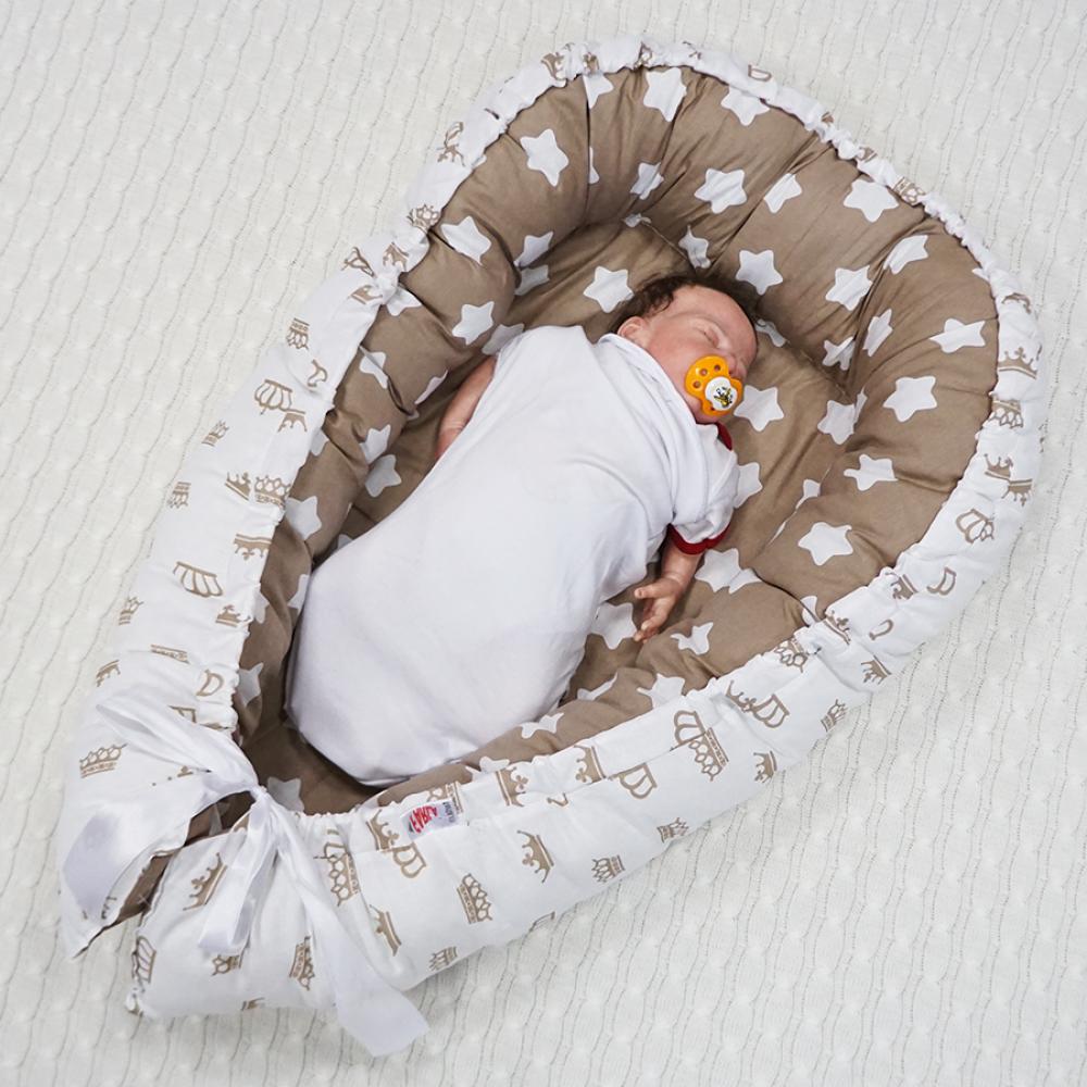 Кокон для новорожденных cocoonababy red castle (фото)