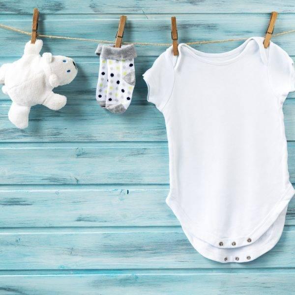 Как правильно стирать вещи для новорождённых?