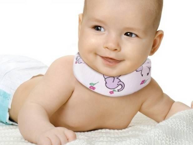 Воротник Шанца для новорожденных — как носить и сколько, размеры