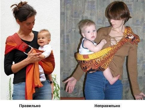 Какой слинг удобнее для кормления новорожденного?