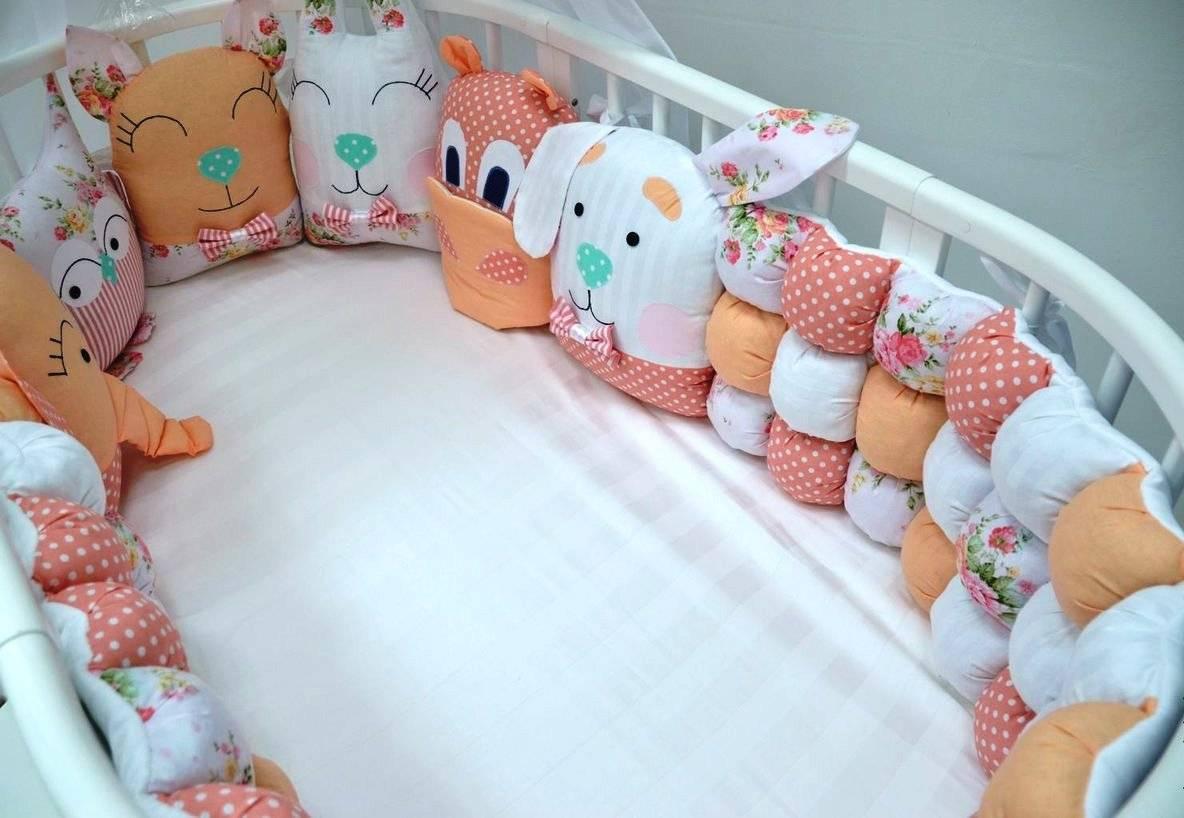 Мастер-класс по изготовлению бортиков в кроватку для новорожденных своими руками