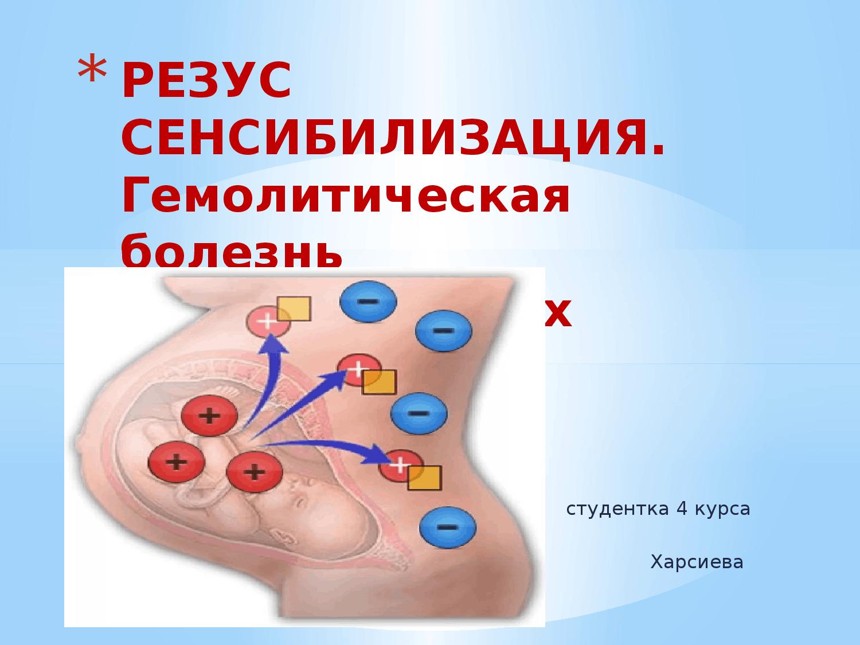 Гемолитическая болезнь новорожденных: гемолитическая болезнь новорожденных (для себя и для всех)