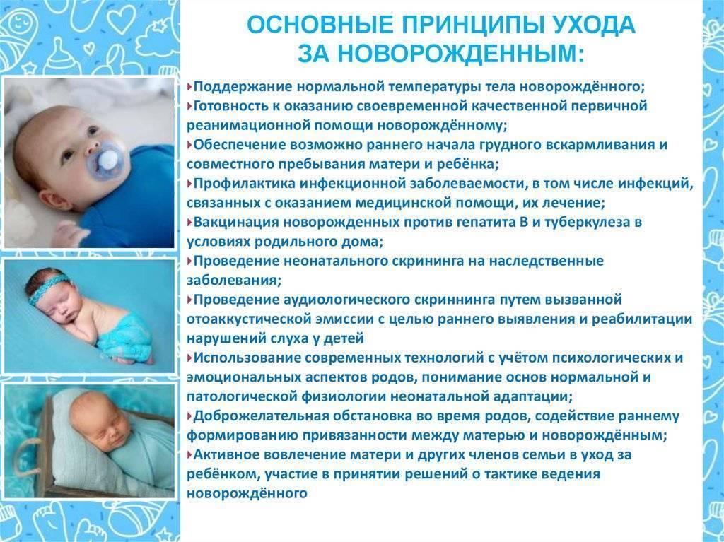 Все за и против прививок новорожденным в роддоме