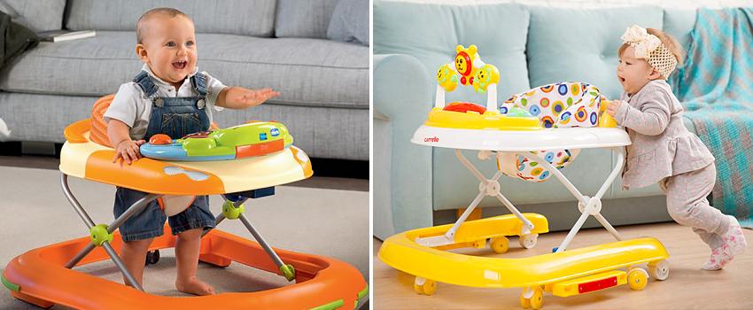 Детские ходунки – ходунки каталки для детей, ходунки-машинка. когда можно сажать ребенка в ходунки? нужны ли ребенку ходунки?