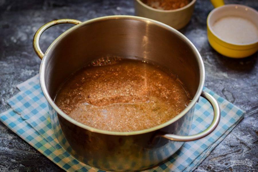 Как варить гречневую кашу грудничку