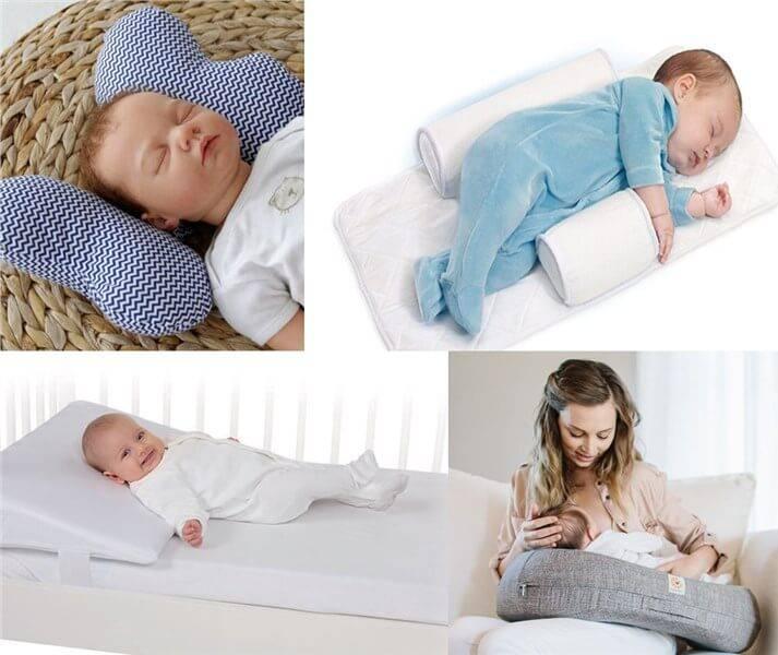 Ортопедическая подушка для новорожденного - советы специалистов