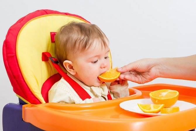 С какого возраста можно предлагать мандарины ребенку
