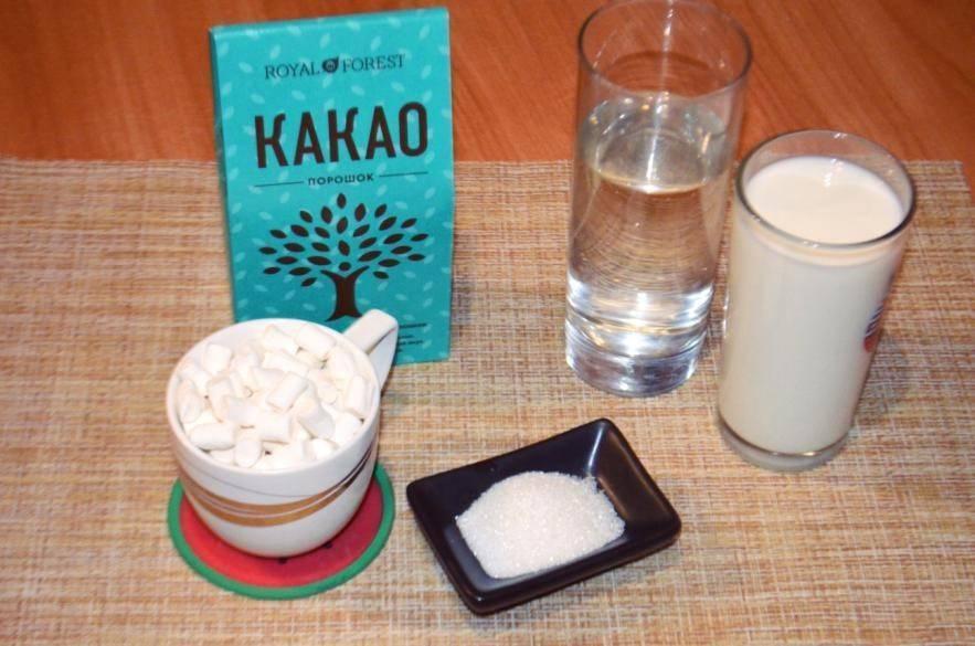 Какао для детей - с какого возраста его можно давать. рецепт