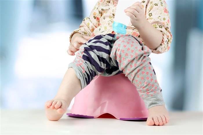 Как приучить ребенка к горшку в 1 год?