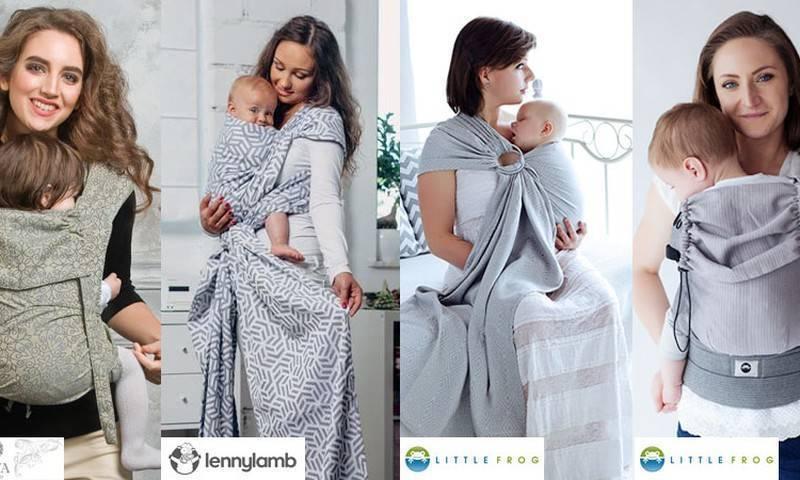 Слинг для новорожденного — какие бывают и как выбрать лучший