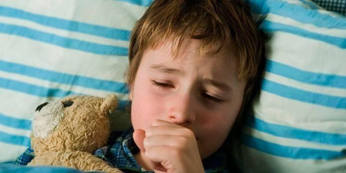 Ребенку 4 месяца кашляет и чихает