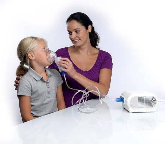 Ингалятции для новорожденных от кашля и насморка
